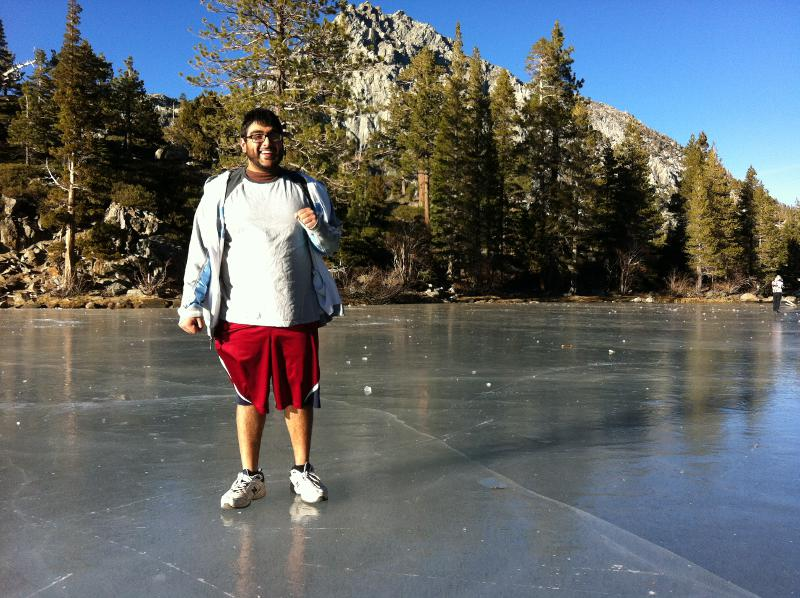 Panjabi on ice